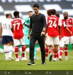 Lini Belakang Arsenal Kembali Bikin Blunder, Mikel Arteta Minta Maaf kepada Fans