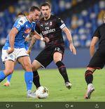 Hasil Liga Italia: Napoli dan AC Milan Berbagi Angka