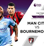 Link Live Streaming Liga Inggris: Manchester City vs Bournemouth