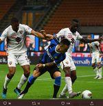 Lautaro Martinez Senang Berada di Inter Milan Meski Dikaitkan ke Barcelona