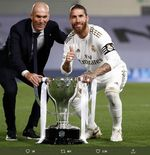 Jika Real Madrid Juara Piala Super Spanyol, Sergio Ramos dan Marcelo Menyamai Rekor Paco Gento