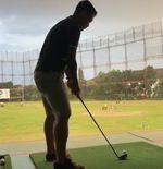 Dedi Kusnandar Isi Waktu Luang dengan Berlatih Golf