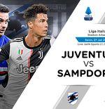 Link Live Streaming Liga Italia: Juventus vs Sampdoria
