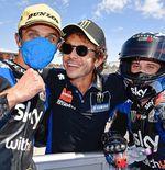 Valentino Rossi Optimistis dengan Karier Luca Marini di MotoGP