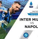 Link Live Streaming Liga Italia: Inter Milan vs Napoli
