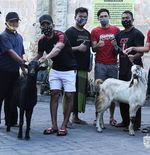 Skuad Bali United Berbagi Daging Kurban untuk Rayakan Iduladha