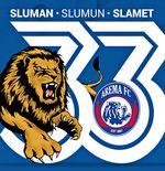 Makna Falsafah Sluman Slumun Slamet, Moto HUT Ke-33 Arema FC