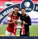 6 Fakta Arsenal Juara Piala FA: Mimpi Indah Aubameyang