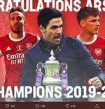 Hasil Final Piala FA: Taklukkan Chelsea, Arsenal Juara!