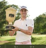Raih Gelar Ketiga Musim Ini, Justin Thomas Puncaki Peringkat Golf Dunia
