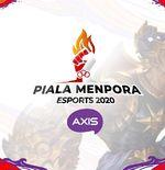 Baru Empat Hari, Pendaftar Piala Menpora Esports 2020 Axis Tembus 1.600 Tim