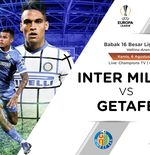 Link Live Streaming Liga Europa: Inter Milan vs Getafe