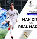 Prediksi Liga Champions: Manchester City vs Real Madrid