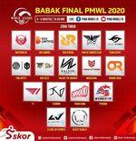 Link Live Streaming PMWL 2020 Zona Timur Hari Pertama Grand Final