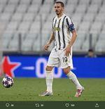 Kalah di Liga Champions, Leonardo Bonucci Klaim Liga Italia yang Jadi Prioritas Juventus