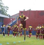 Gelar Latihan Perdana, Pelatih Persik Kediri Tak Buru-buru Genjot Pemainnya