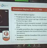 Persijap dan PSCS Tetap Ajukan Diri Jadi Tuan Rumah Liga 2 2020