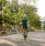 Berusia Setengah Abad Lebih, Mustaqim Masih Kuat Bersepeda Puluhan Kilometer