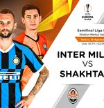 Link Live Streaming Liga Europa: Inter Milan vs Shakhtar Donetsk