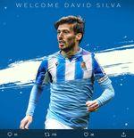 Bursa Transfer: David Silva Resmi Bergabung dengan Real Sociedad