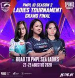 Belletron Ace Juara Ladies Tournament PMPL Indonesia Season 1