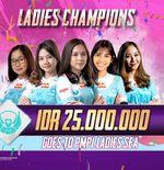 Dipimpin Belletron Ace, Ini 4 Wakil Indonesia di PMPL Ladies SEA 2020