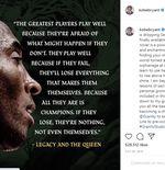 Dinarasikan Rapper Kendrick Lamar, Nike Rilis Video Iklan Tribute untuk Kobe Bryant