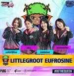 LITTLEGROOT EUFROSINE Rebut Juara PMPL Ladies SEA Final 2020