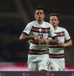 Positif Covid-19, Joao Cancelo Dicoret dari Timnas Portugal