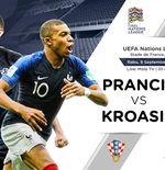 Prediksi UEFA Nations League: Prancis vs Kroasia