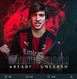 Debut Sandro Tonali di AC Milan Diprediksi Lebih Buruk dari Ismael Bennacer