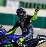 Valentino Rossi Merasa Yamaha YZR-M1 Lebih Cepat dengan Perangkat Baru