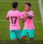 Barcelona 3-1 Girona: Lionel Messi dan Philippe Coutinho Cetak Gol Indah