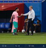 Cetak 2 Gol untuk Barcelona, Lionel Messi Tunjukkan Sikap Profesional