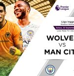 Link Live Streaming Wolverhampton Wanderers vs Manchester City di Liga Inggris