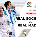 Prediksi Liga Spanyol: Real Sociedad vs Real Madrid