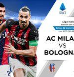 Link Live Streaming AC Milan vs Bologna di Liga Italia
