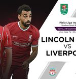 Link Live Streaming Piala Liga Inggris: Lincoln City vs Liverpool