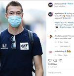 GP F1 Sochi 2020: Daniil Kvyat Akan Gunakan Helm Livery Desain Khusus Kreasi Penggemar