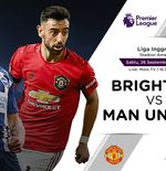 Link Live Streaming Liga Inggris: Brighton vs Manchester United