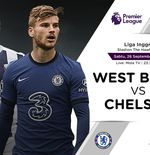 Link Live Streaming West Bromwich Albion vs Chelsea di Liga Inggris