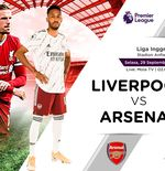 Link Live Streaming Liga Inggris: Liverpool vs Arsenal