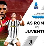 Liga Italia: Link Live Streaming AS Roma vs Juventus