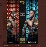 UFC 254: Khabib Nurmagomedov Bakal Bikin Justin Gaethje Kelelahan