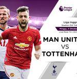 Link Live Streaming Liga Inggris: Manchester United vs Tottenham Hotspur