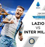 Link Live Streaming Liga Italia: Lazio vs Inter Milan