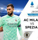 Link Live Streamng Liga Italia: AC Milan vs Spezia