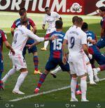 Hasil Levante vs Real Madrid: Gol Vinicius Junior dan Karim Benzema Bawa Los Blancos ke Puncak Klasemen