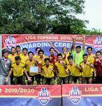 Liga TopSkor U-17 2019-2020: ASAD 313 Raih Peringkat Ketiga