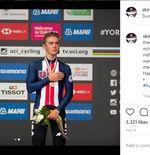 Terkait Emoji Berbau Rasisme  dalam Tweet-nya, Pembalap Sepeda AS Di-Skors Tanpa Batas Waktu